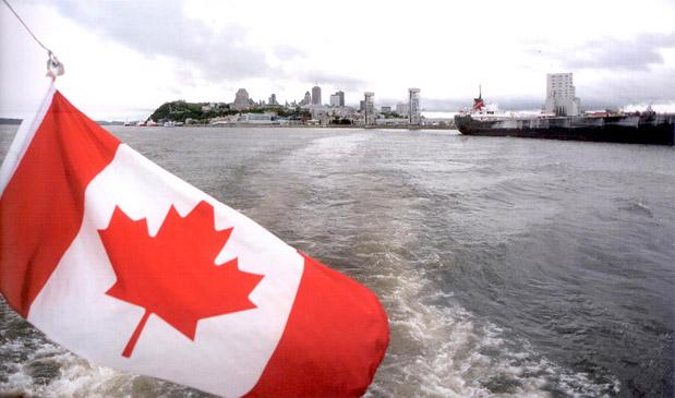 Pe fluviul Saint-Laurent