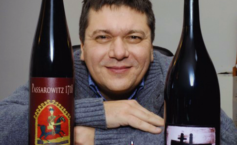 """Liviu Grigorică: """"Am fost pus să fac un vin care să miroasă a chilie curată de măicuţă"""""""