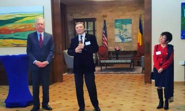 Presedintele ADAR invitat de Hans Klemm, ambasadorul SUA